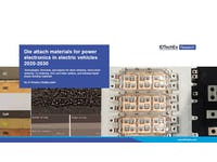 Die Attach Materials for Power Electronics in Electric Vehicles