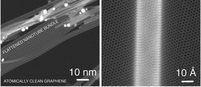 Graphene and carbon nanotubes combine into transparent hybrid material