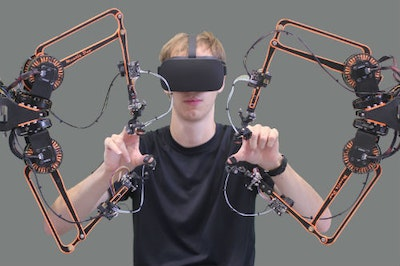 New haptic arm places robotics within easy reach