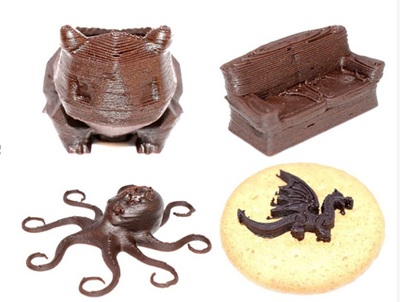 3D Printed Chocolate Without Temperature Control