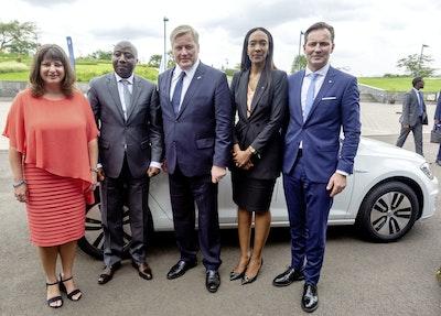 卢旺达成为首个引进大众电动汽车的非洲国家yabo体育