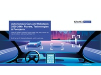 Autonomous Cars and Robotaxis 2020-2040