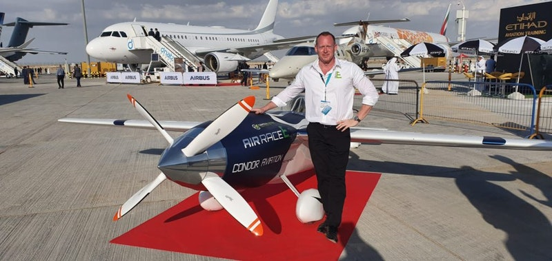 Electric Race Plane Unveiled