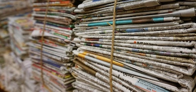 Old Newspapers Used to Grow Carbon Nanotubes