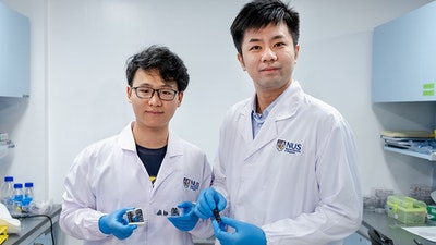 New Metallic Material for Flexible Soft Robots
