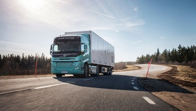 Volvo Presents Heavy-Duty Electric Concept Trucks