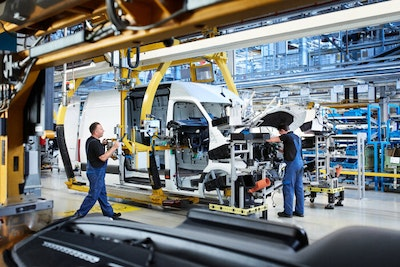 Start of Production of Mercedes-Benz eSprinter