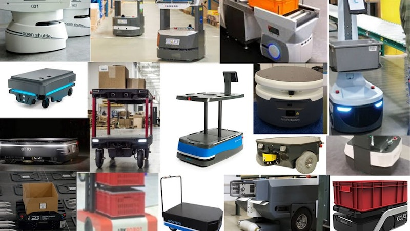 Recent High Valuation in Autonomous Mobile Robots in Warehouses