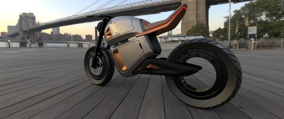 混合动力电动摩托车的概念