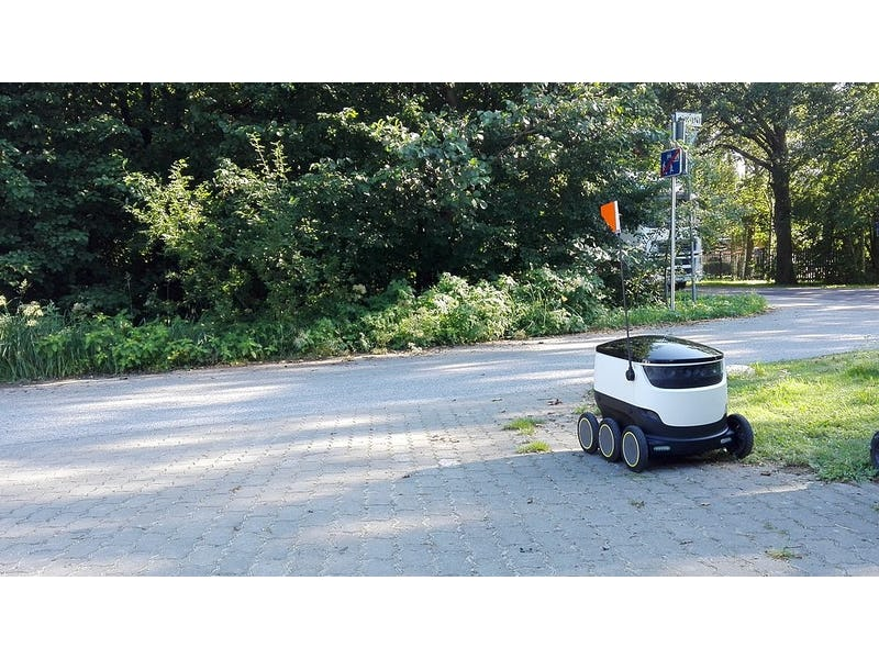 Sidewalk Last Mile Delivery Robots: a Billion-Dollar-Market by 2030? |  IDTechEx Research Article