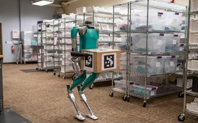 Ford is First Customer of Agility Robotics Biped Digit Robot
