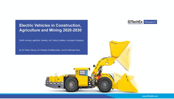 Electric Vehicles in Construction, Agriculture and Mining 2020-2030