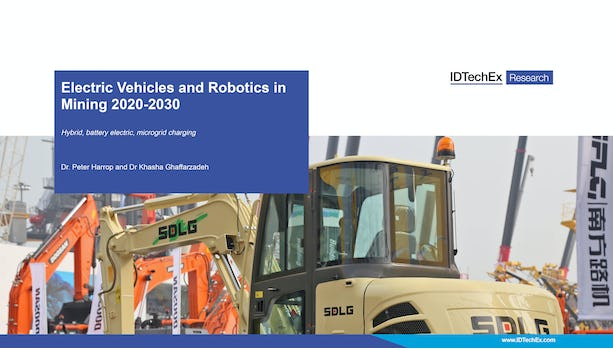 Electric Vehicles and Robotics in Mining 2020-2030