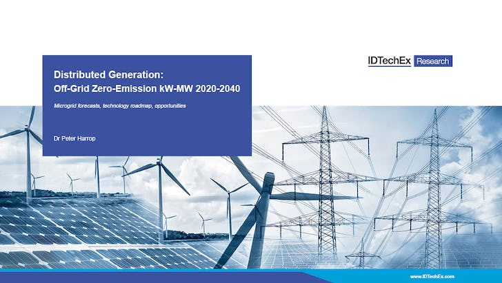 Distributed Generation: Off-Grid Zero-Emission kW-MW 2020-2040