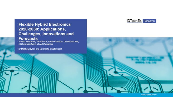Flexible Hybrid-Elektronik 2020-2030: Anwendungen, Herausforderungen, Innovationen und Prognosen