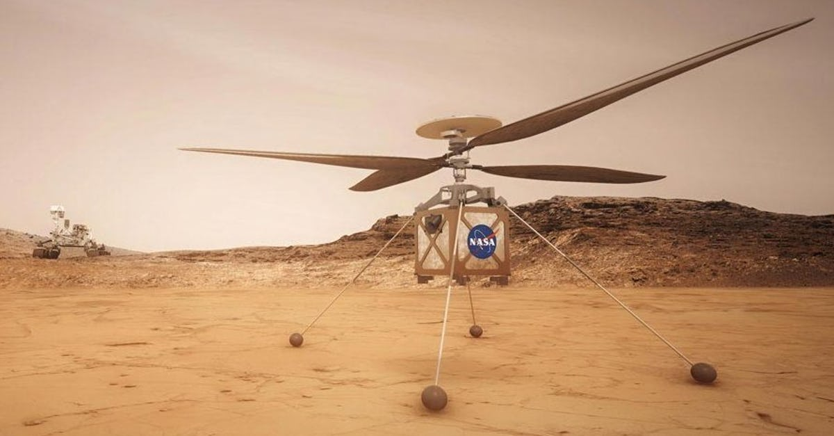Mars Helicopter Attached to NASA's Perseverance Rover | Robotics ...