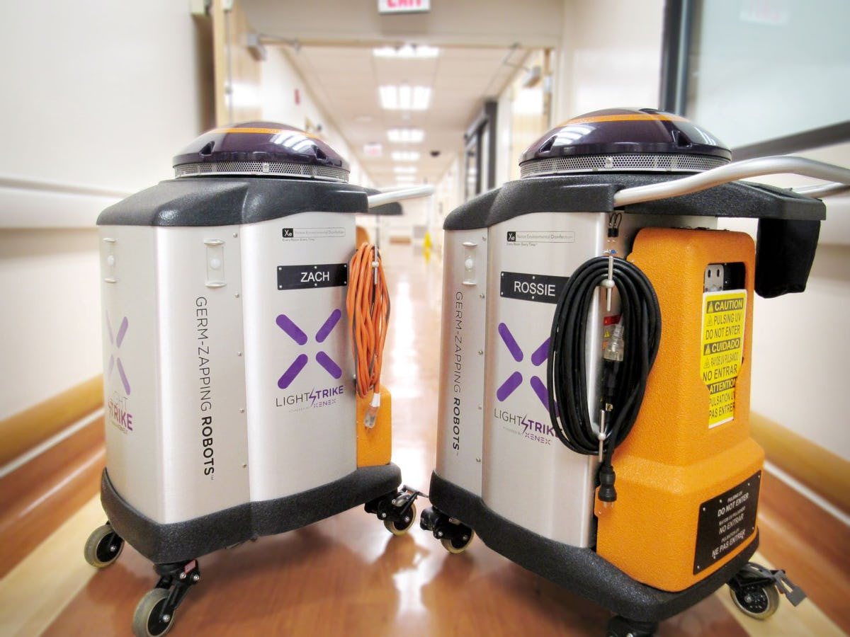 Robots get Stamp of Approval for COVID-19 Elimination   Robotics Research