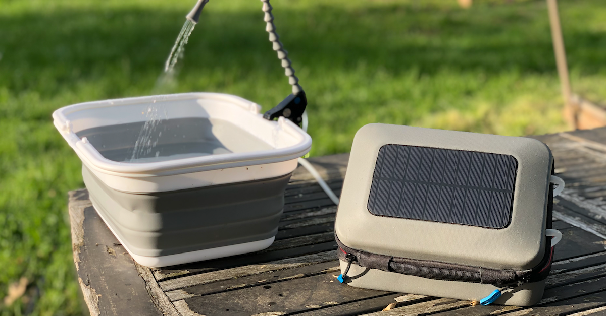 Solar Powered Water Purifier and Sanitation System | Off Grid Energy  Independence