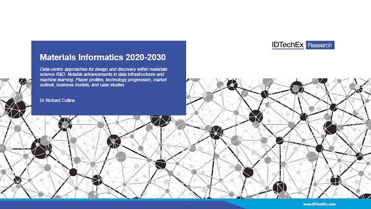 Materials Informatics 2020 2030 Idtechex