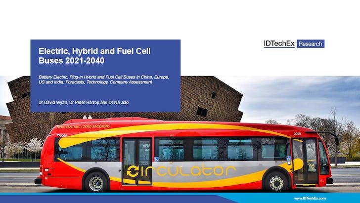 电气,混合动力和燃料电池总线2021-2040
