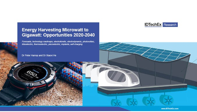 Energy Harvesting Microwatt to Gigawatt: Opportunities 2020-2040