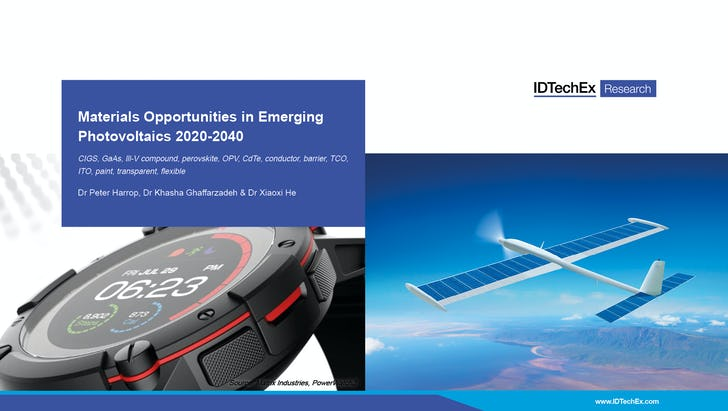 Materials Opportunities in Emerging Photovoltaics 2020-2040