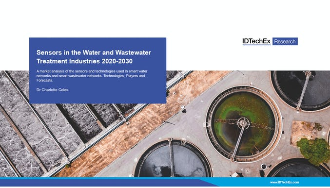Sensors in the Water and Wastewater Treatment Industries 2020-2030