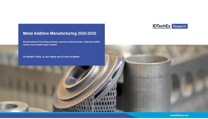 Metal Additive Manufacturing 2020-2030