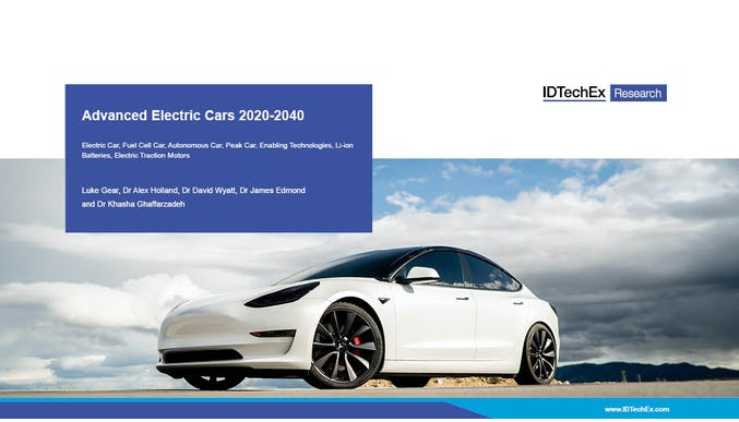 Advanced Electric Cars 2020-2040