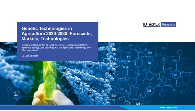 Genetic Technologies in Agriculture 2020-2030: Forecasts, Markets, Technologies