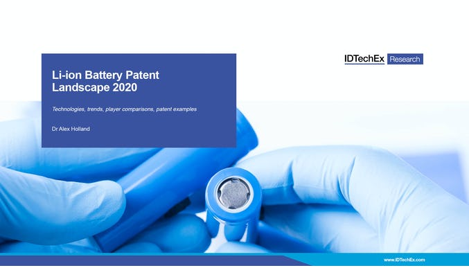 Li-ion Battery Patent Landscape 2020
