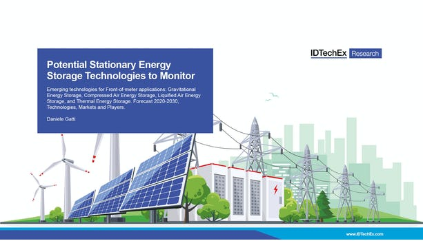 Potential Stationary Energy Storage Technologies to Monitor