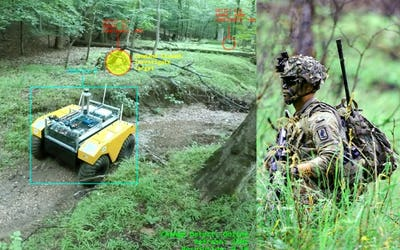 Army Robo Teammate can Detect, Share 3D Changes in Real Time