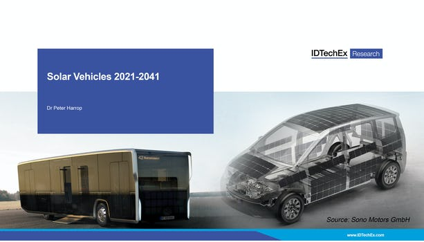 Solar Vehicles 2021-2041