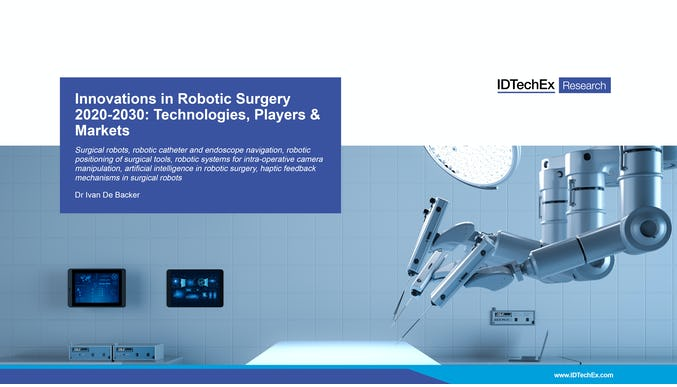 Innovations in Robotic Surgery 2020-2030: Technologies, Players & Markets