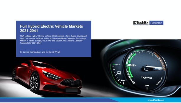 Full Hybrid Electric Vehicle Markets 2021-2041