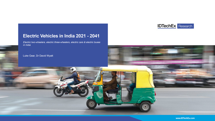Electric Vehicles in India 2021-2041