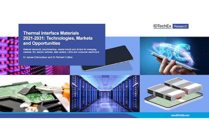 Thermal Interface Materials 2021-2031: Technologies, Markets and Opportunities