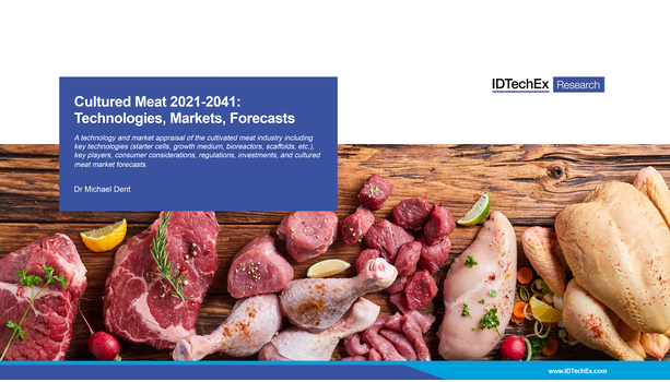 Cultured Meat 2021-2041: Technologies, Markets, Forecasts