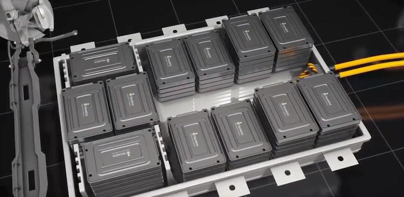 世界上第一个10分钟充电锂离子硅主导圆柱形电池
